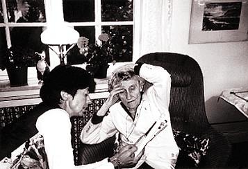 Astrid Lindgren und Silke Weitendorf
