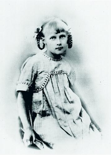 Astrid Lindgren als junges Mädchen
