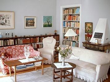 Astrid Lindgren's Wohnsitz in der Dalagatan 46