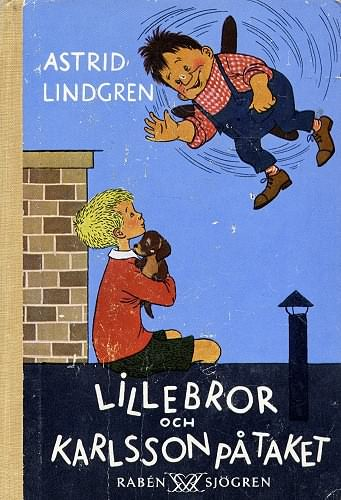 Lillebror och Karlsson på taket, 1955