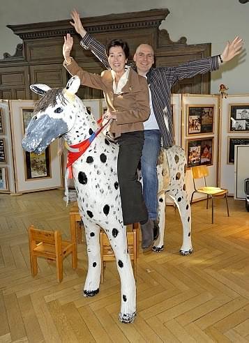 Silke Weitendorf und Mathias Blum