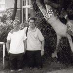 Matthias und Jan Mats Blum auf Sylt