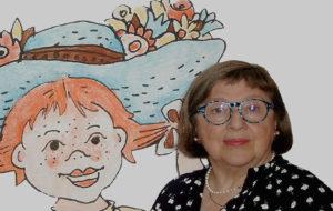 Sybil Gräfin Schönfeldt und Pippi Langstrumpf