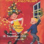 Pippi plündert den Weihnachtsbaum – Lindgren-Nachmittag im Volkswagen-Zentrum